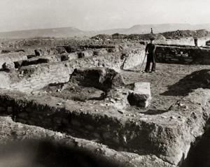 Разкопки на Плиска